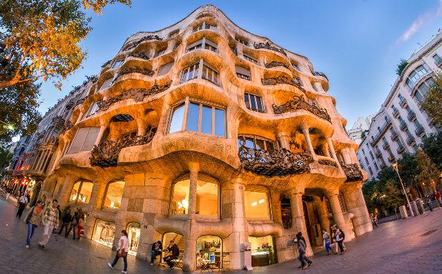 La Pedrera Barcelona, Spain