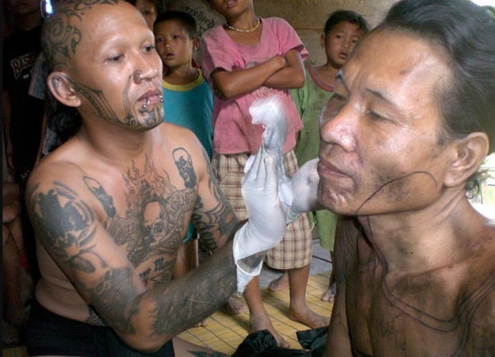 Sumatra Mentawei Tattoo