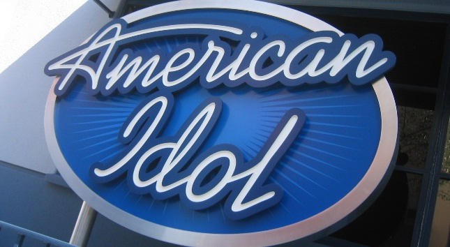 photo of american idol logo