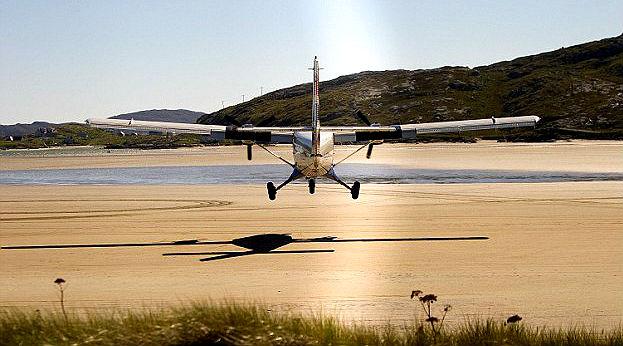 Barra Airport - Scotland, UK