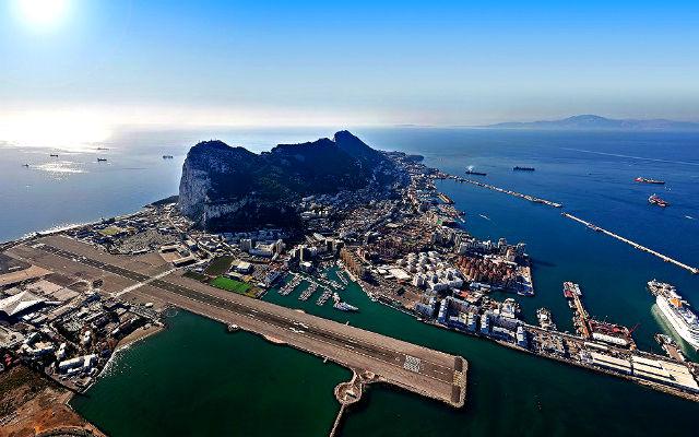 Gibraltar Airport - British overseas territory
