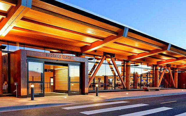 Jackson Hole Airport - Wyoming, USA
