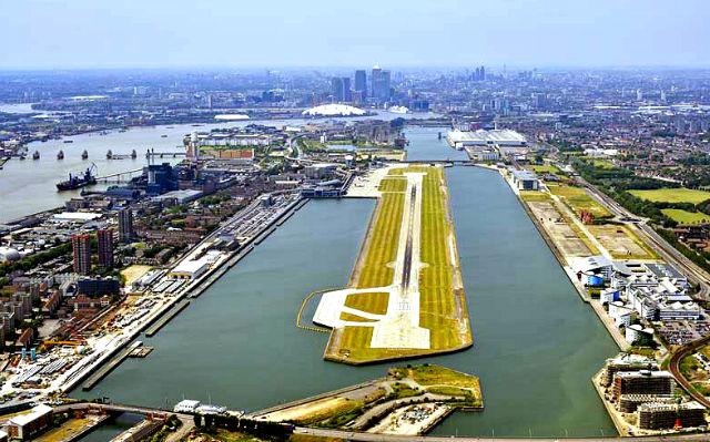 London City Airport - London, UK