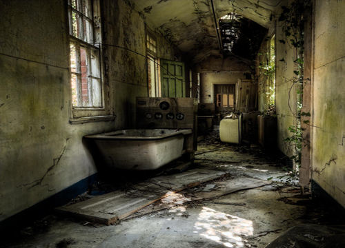 Hellingly Hospital in England