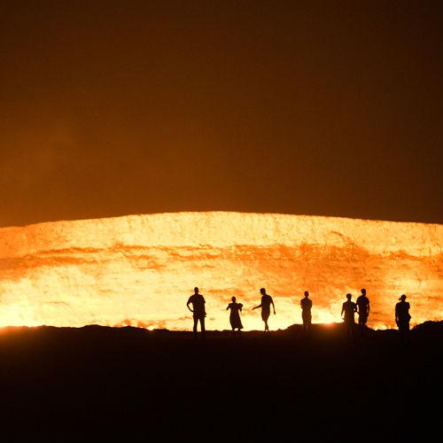 The Door to Hell in Turkmenistan