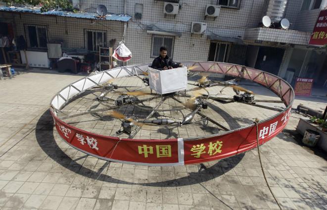 Circular Flying Device