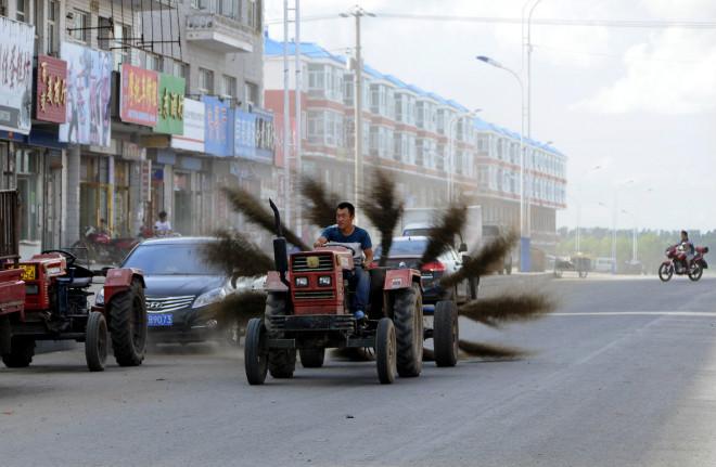 Improvised Street Sweeper