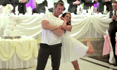 amazing and infectious wedding dance