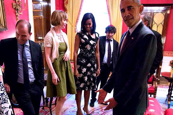 little girl tantrum in white house