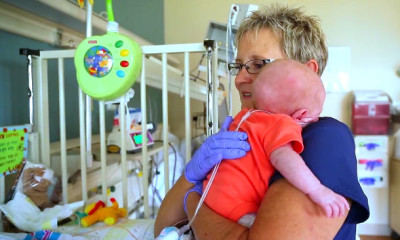 NICU Survivors Surprise Nurse Who Saved Their Lives viral