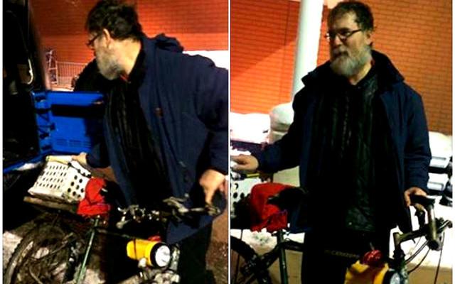 Man Biking to Work in Snowstorm to Receive Car
