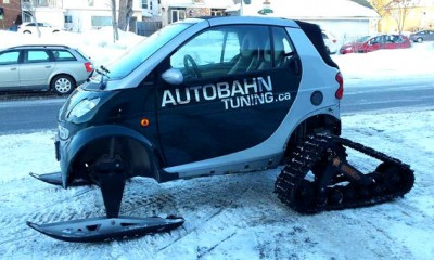 Ottawa Car Owner Modifies Vehicle to Handle Snow Goes Viral