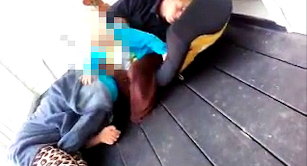 Teen Mom High on Drugs Arrested After Video of Neglected Toddler Goes Viral