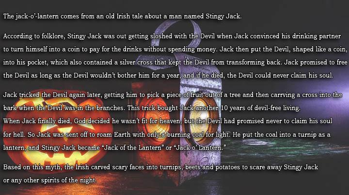 Jack O Lantern Facts