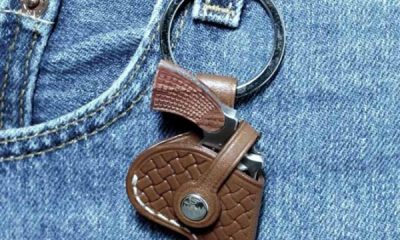 Swiss Mini Gun Key Fob