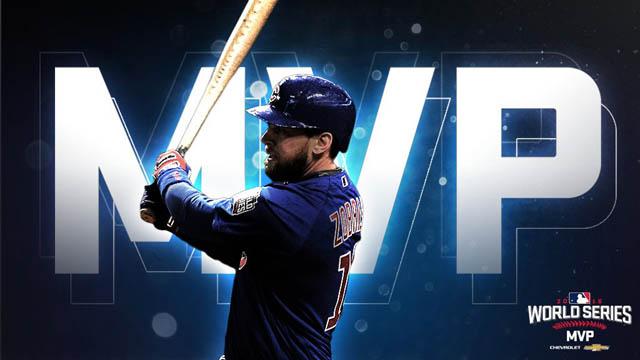 Ben Zobrist Chicago Cubs MVP