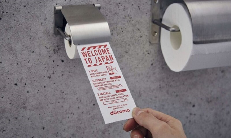 Japan Toilet paper for Smartphone