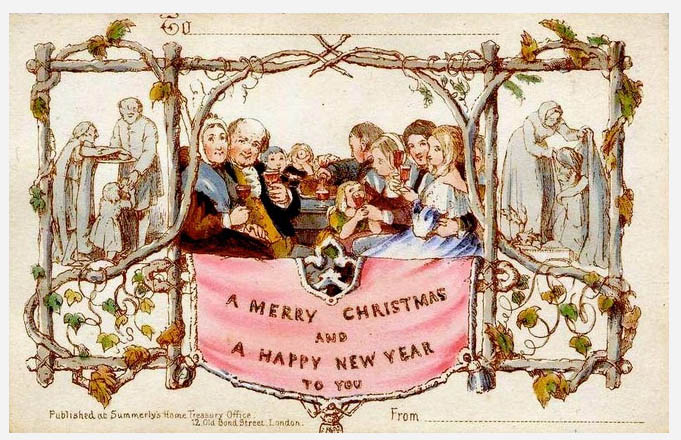 Most expensive Christmas greeting card sold at auction