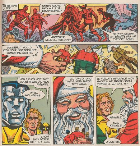 Santa Claus X Men