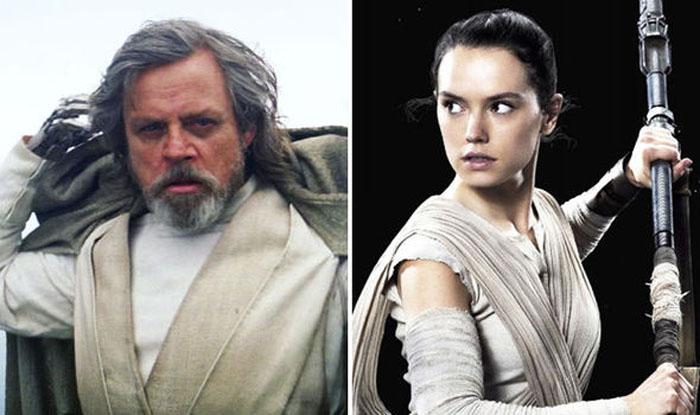 Luke Skywalker and Rey