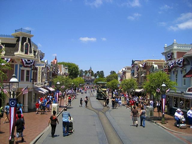 Disneyland Park Mainstreet