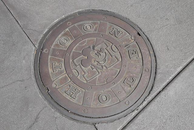 Toontown Manhole