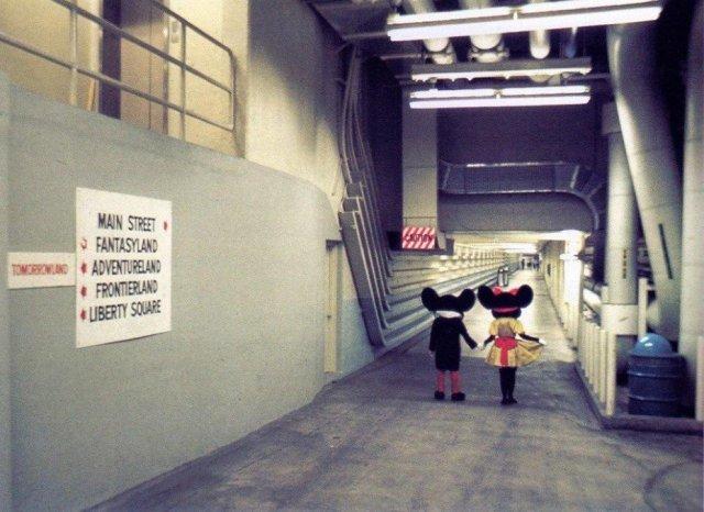 Underground Tunnels Disneyland