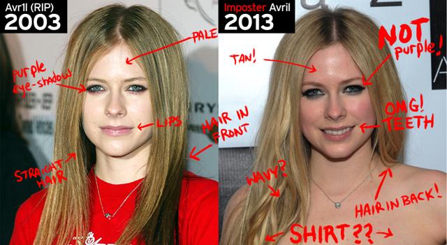 Avril Lavigne 2003 2013