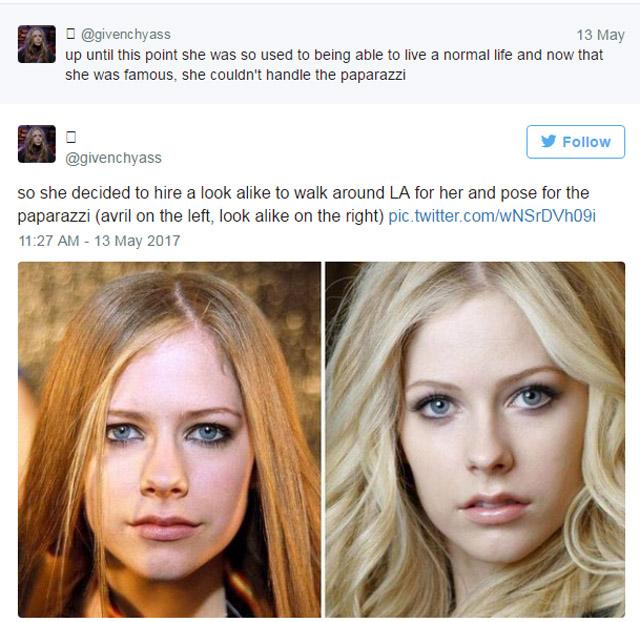Avril Lavigne Lookalike Melissa Vandela