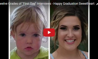 Father interviews daughter on every first day of school for 12 years and here's the result!