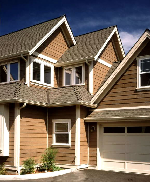 Neutral Tones - Exterior House Siding Ideas