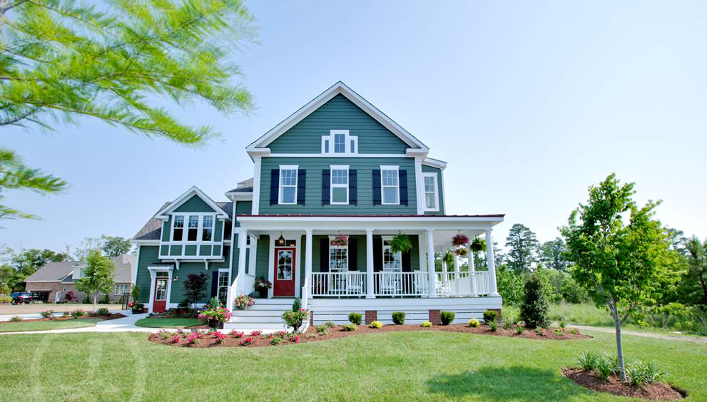 Faux Windows - Exterior House Siding Colors