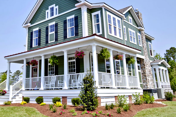 Contrasting Sides - Exterior House Siding Ideas