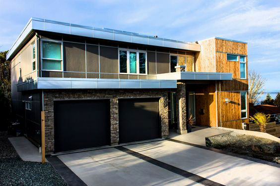 2-in-1 Building Siding - Types of Exterior House Siding Ideas