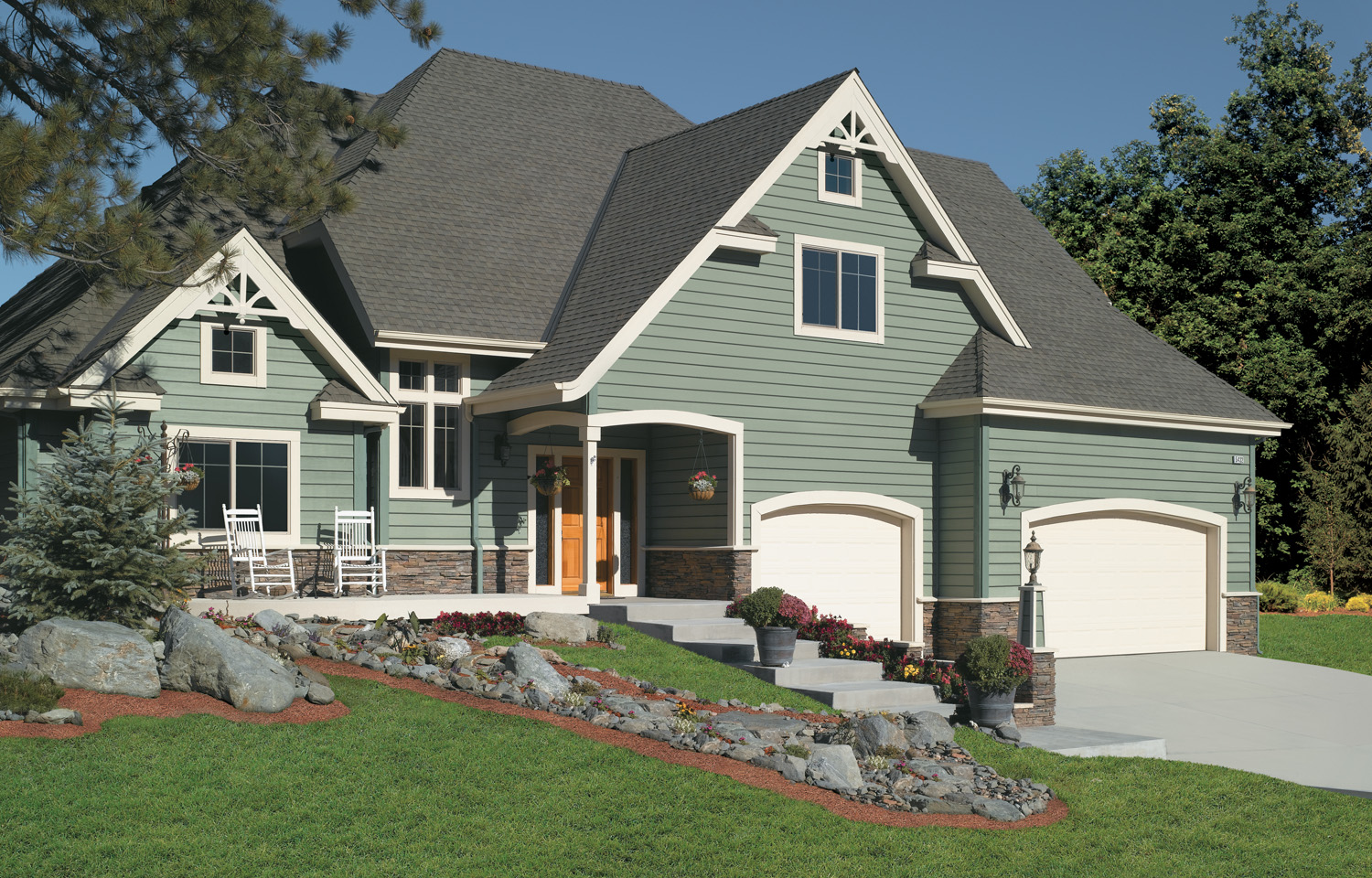 Mixed Materials - Exterior House Siding Ideas