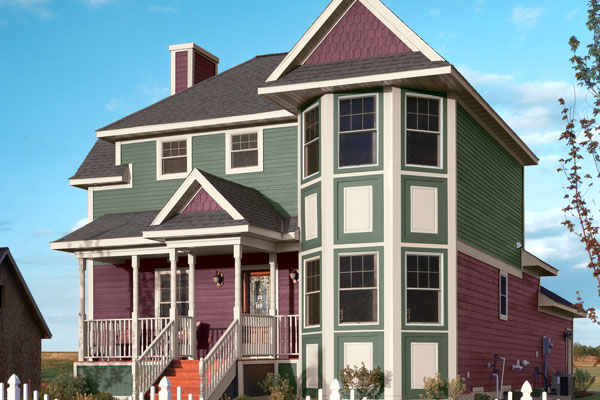 Elegance of a Victorian Home - Exterior House Siding Options