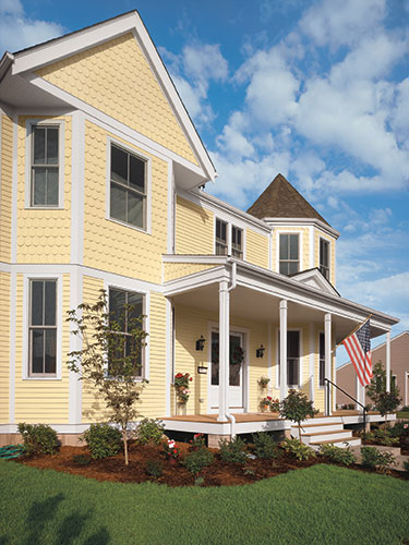 The Up Look Appeal - Exterior House Siding Ideas
