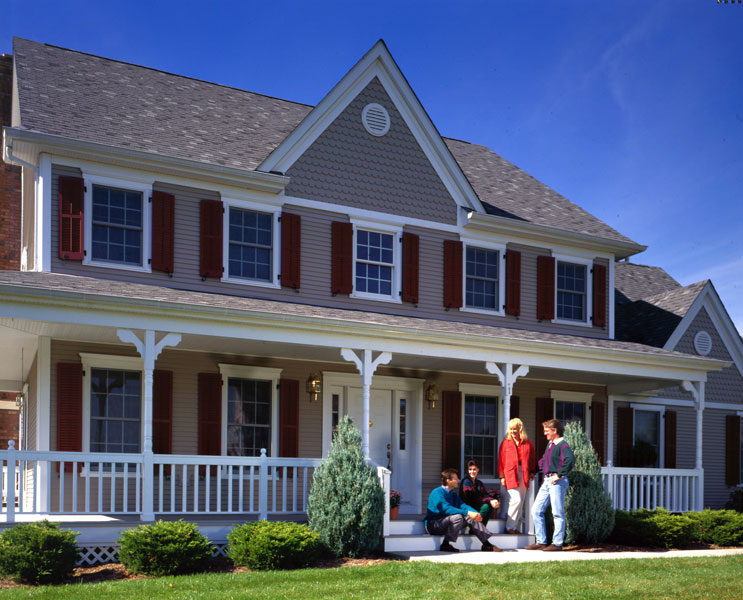 Roofline Emphasis - Exterior House Siding Options