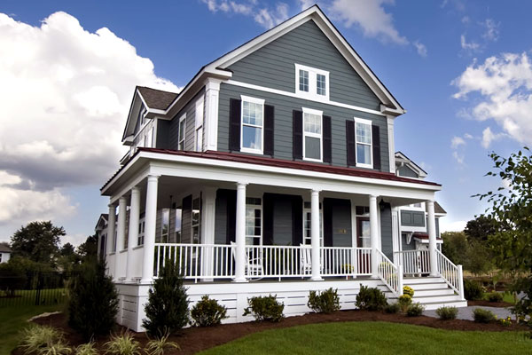 Monochromatic Statement - Best Exterior House Siding Ideas