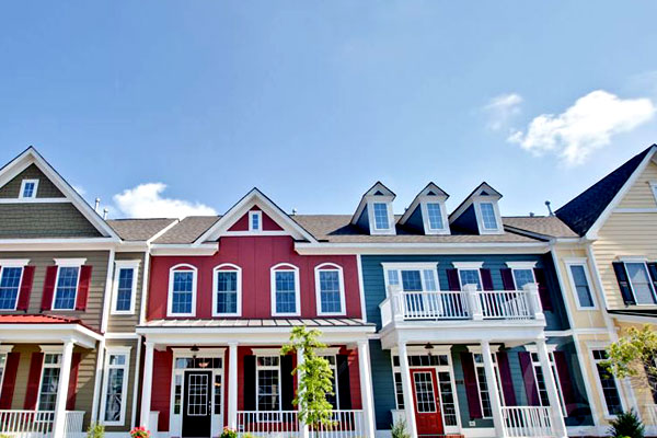 Color Coding in Multi-Family Home - Best Exterior House Siding Ideas