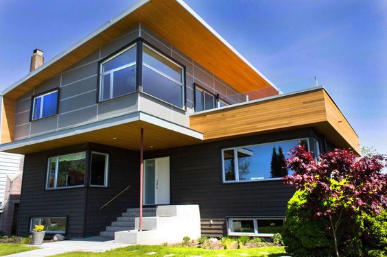 Visual Contrasts - Exterior House Siding Colors