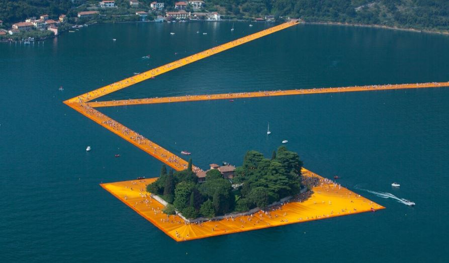 Floating Piers - by Christo and Jeanne-Claude