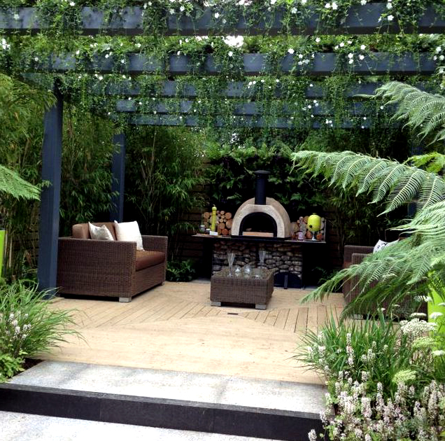 Shade the Deck with a Pergola , Indoor & Outdoor Decking Ideas