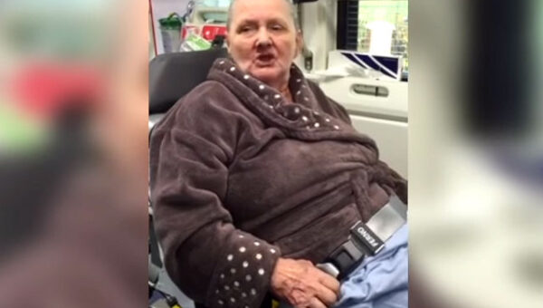 Granny Norma dubbed as Britain's oldest rapper while in ambulance