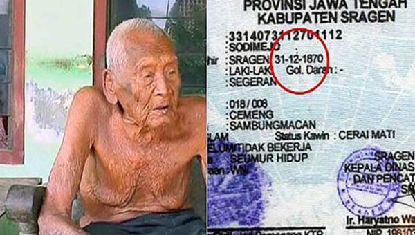 World's oldest man alive revealed his secret for longer life on his 146th birthday celebration