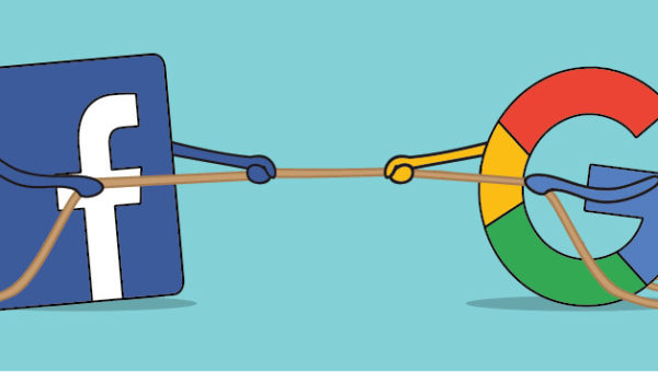 facebook-vs-google-adwords ads