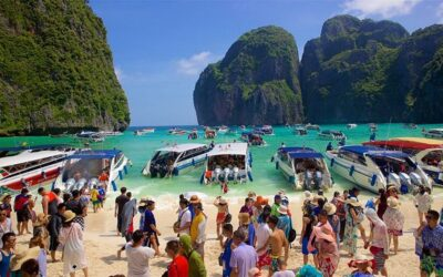 Thailand Closes Beach in Leonardo DiCaprio's Famous Movie Due to Damage from Tourists